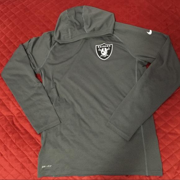 Hot Nike Tops | Oakland Raiders Hoodie | Poshmark